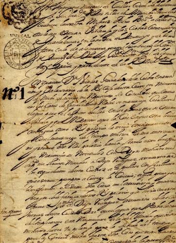 Imagen de Autorización dada por el virrey duque de Albuquerque para que el ensayador mayor, Nicolás González de la Cueva, haga fabrica de cañería en la Casa de la Fundición (propio)