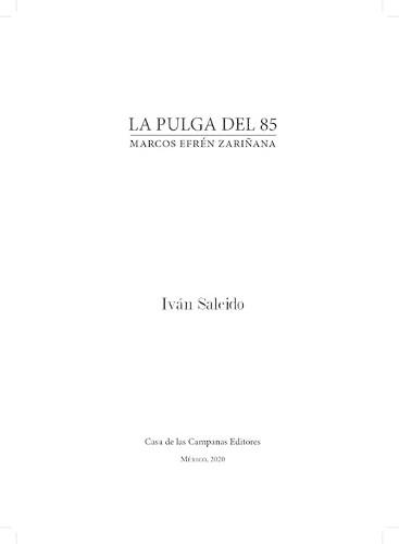 Imagen de La Pulga del 85: Marcos Efrén Zariñana (propio)