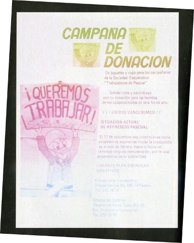 Imagen de Cartel Campaña de donación (atribuido)