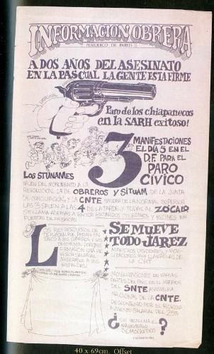 Imagen de Cartel Información obrera (atribuido)