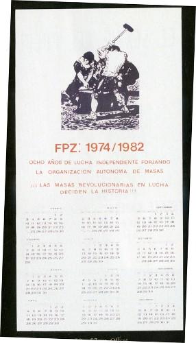 Imagen de Cartel FPZ: 1974-1982 (atribuido)
