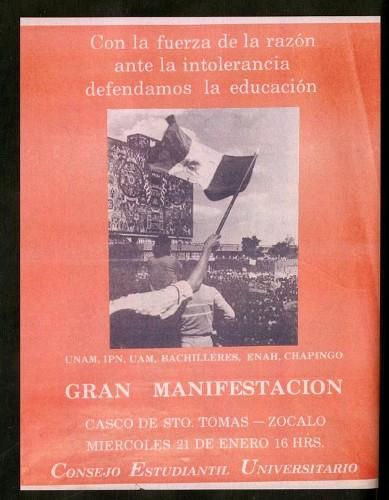 Imagen de Con la fuerza de la razón ante la intolerancia defendamos la educación (atribuido)