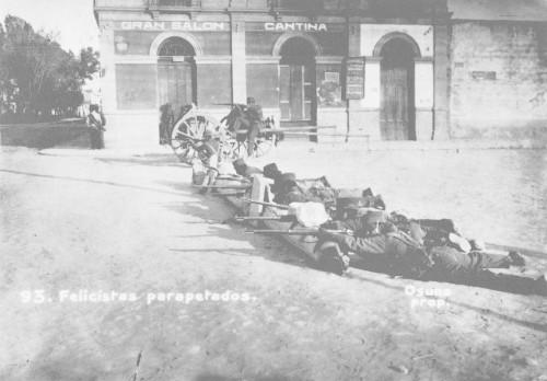 """Imagen de """"Posiciones felicistas"""" en el  num. 80 de la Calle de Balderas"""