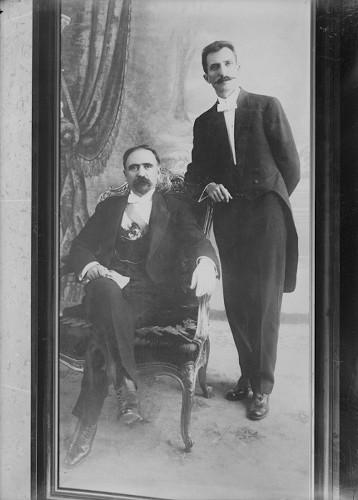 Imagen de Francisco I. Madero y José María Pino Suárez, retrato