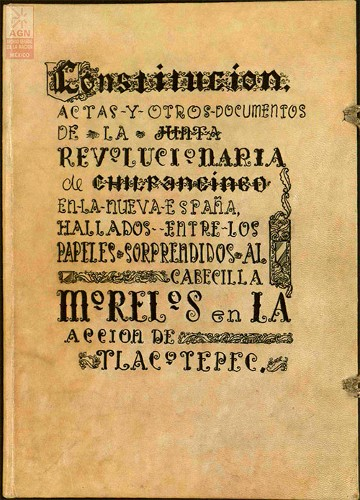 Imagen de Documentos del Congreso de Chilpancingo (261) Manuscrito Cárdenas