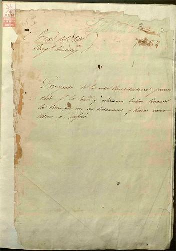 Imagen de Acta Constitutiva de la Federación