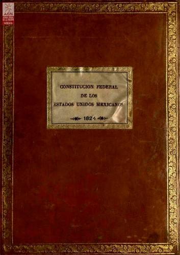 Imagen de Constitución Federal de los Estados Unidos Mexicanos, 1824