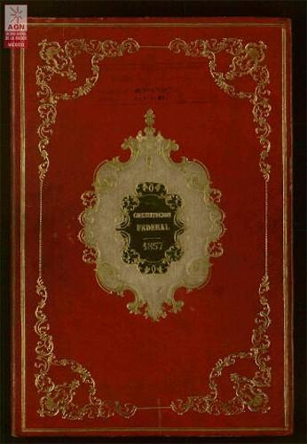 Imagen de Constitución Federal de los Estados Unidos Mexicanos, 1857