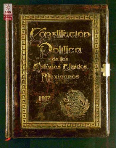Imagen de Constitución Federal de los Estados Unidos Mexicanos, 1917