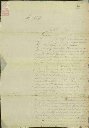 Imagen de Expediente 096: Carta de Luis Terrazas al Presidente Juárez