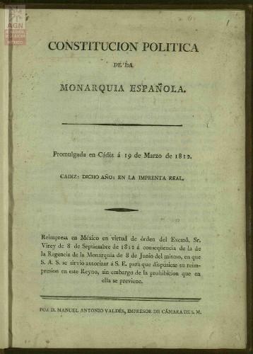 Imagen de Constitución de Cádiz