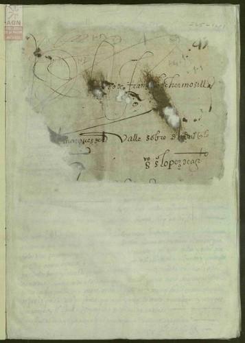 Imagen de Expediente 1: Demanda de Dña. Juana de Hermosilla contra el Marqués del Valle