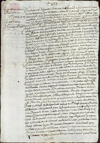 Imagen de Exp.165 Declaración de Josepa de Herrero