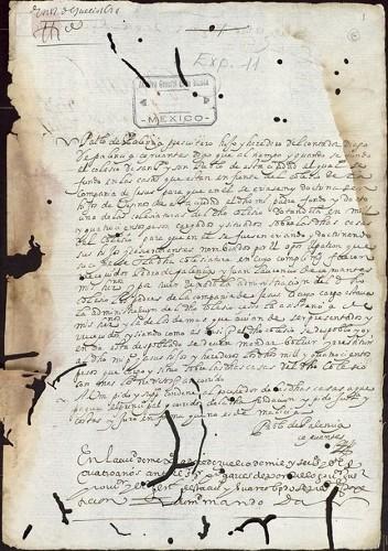 Imagen de Exp.189 Petición para que se devuelva una colegiatura del Colegio de San Pedro y San Pablo