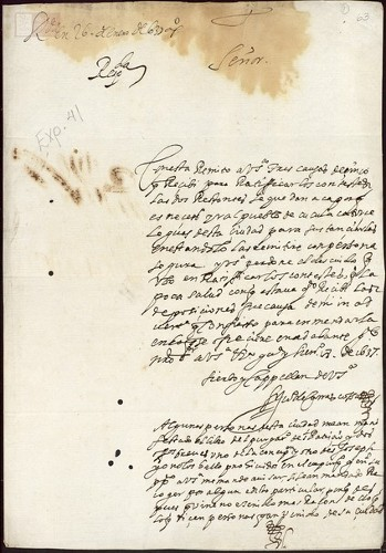 Imagen de Exp.274 Se pide información de libros prohibidos