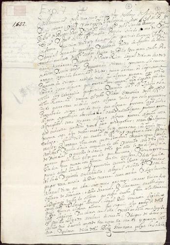 Imagen de Exp.339 Caso en contra de la mulata Francisca de Ynterial por darle algo a su marido