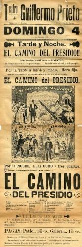 Imagen de El Teatro Guillermo Prieto presenta׃ El camino del presidio