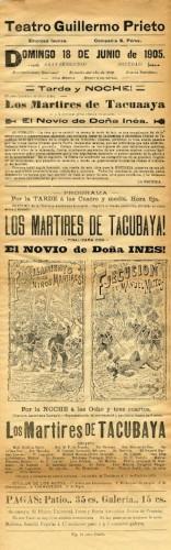 Imagen de El Teatro Guillermo Prieto presenta: Los mártires de Tacubaya y El novio de doña Inés