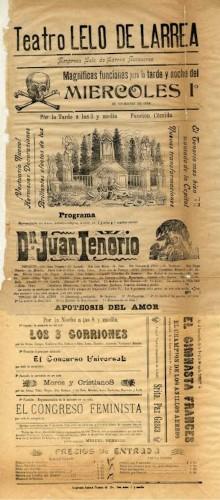 Imagen de El Teatro Lelo de Larrea presenta׃ Don Juan Tenorio