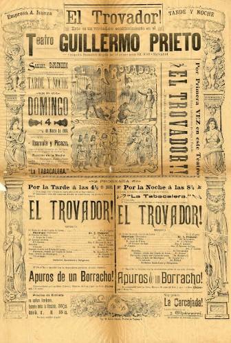 Imagen de El Teatro Guillermo Prieto presenta: El trovador