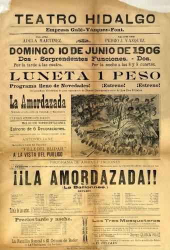 Imagen de El Teatro Hidalgo presenta: La amordazada