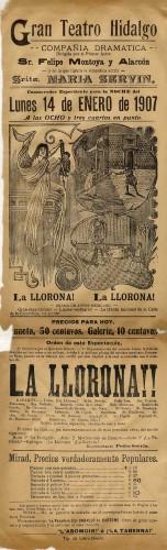Imagen de El Teatro Hidalgo presenta: La llorona