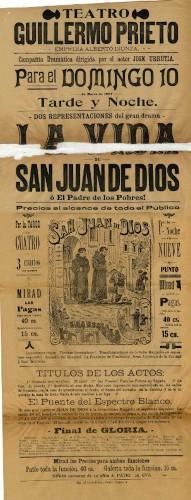 Imagen de El Teatro Guillermo Prieto presenta: La vida de San Juan de Dios