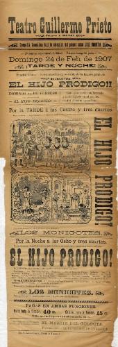Imagen de El Teatro Guillermo Prieto presenta: El hijo pródigo
