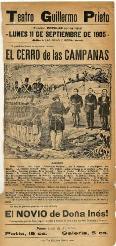 Imagen de El Teatro Guillermo Prieto presenta: El Cerro de las campanas