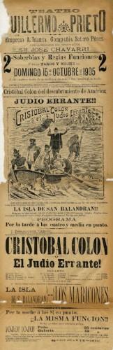 Imagen de El Teatro Guillermo Prieto presenta: Cristóbal Colón o El judío errante