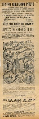 Imagen de El Teatro Guillermo Prieto presenta: Los seis grados del crimen