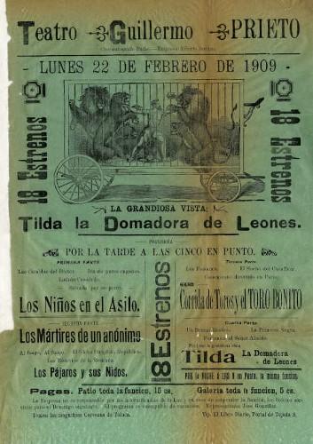 Imagen de El Teatro Guillermo Prieto presenta: Tilda La domadora de leones