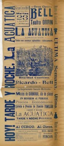 Imagen de El Teatro Orrín presenta: La acuática