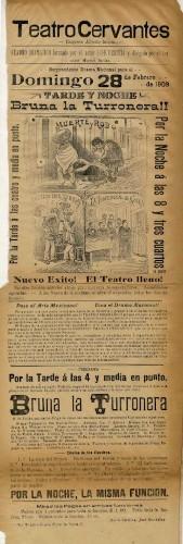 Imagen de El Teatro Cervantes presenta: Bruna La turronera