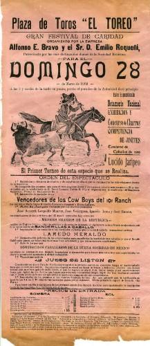 """Imagen de La plaza de toros """"El toreo"""" presenta: Exhibición y Concurso de charros"""