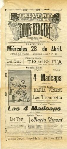Imagen de El Teatro Folies Bergere presenta: Función por tandas
