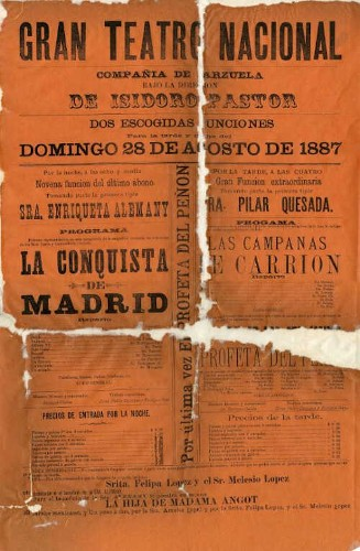 Imagen de El Teatro Nacional presenta: La conquista de Madrid