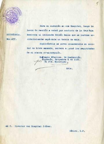 Imagen de Expediente de aprehensiones y consignaciones en la municipalidad de Coyoacán