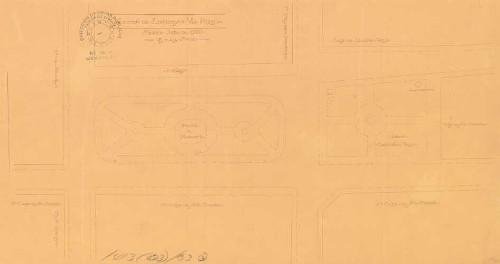 Imagen de Planta de localización para el proyecto de la Plaza Colonial de Santo Domingo