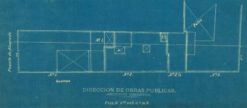 Imagen de Levantamiento de los predios aledaños al Jardín Vicente Guerrero