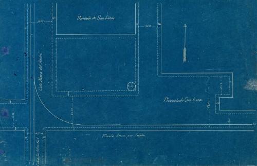 Imagen de Planta de localización de la plaza de San Lucas