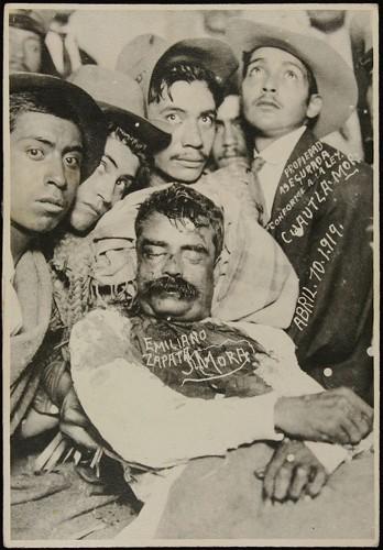 Imagen de Emiliano Zapata ha muerto