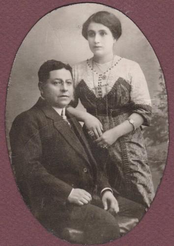 Imagen de Retrato de Enrique Rosas Aragón y Guadalupe Priego Durán  (esposa)
