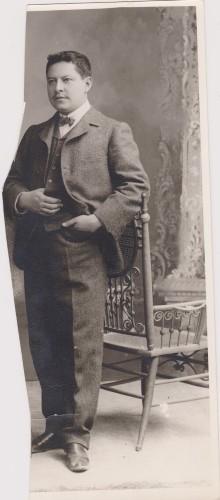 Imagen de Retrato de Enrique Rosas (cinegrafista)
