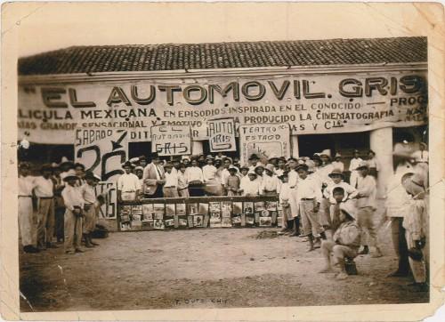 Imagen de Estreno de la película El Automóvil Gris, Tuxtla Gutiérrez, Chiapas