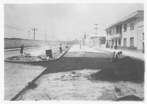 Imagen de Pavimentación de las calles del Olivo para dar entrada a la Carr. México-Laredo