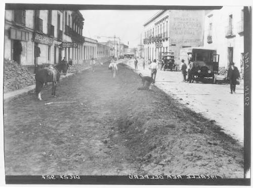 Imagen de Pavimentación de la 1a. calle de Perú