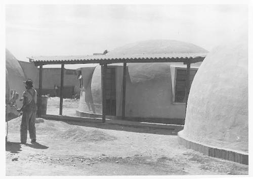 Imagen de Casas construidas por el Sistema Nylon col. Romero Rubio