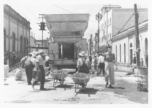 Imagen de Pavimentación Calzada México-Tacuba