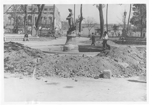 Imagen de Arreglo de los surtidores y de las fuentes de la Alameda